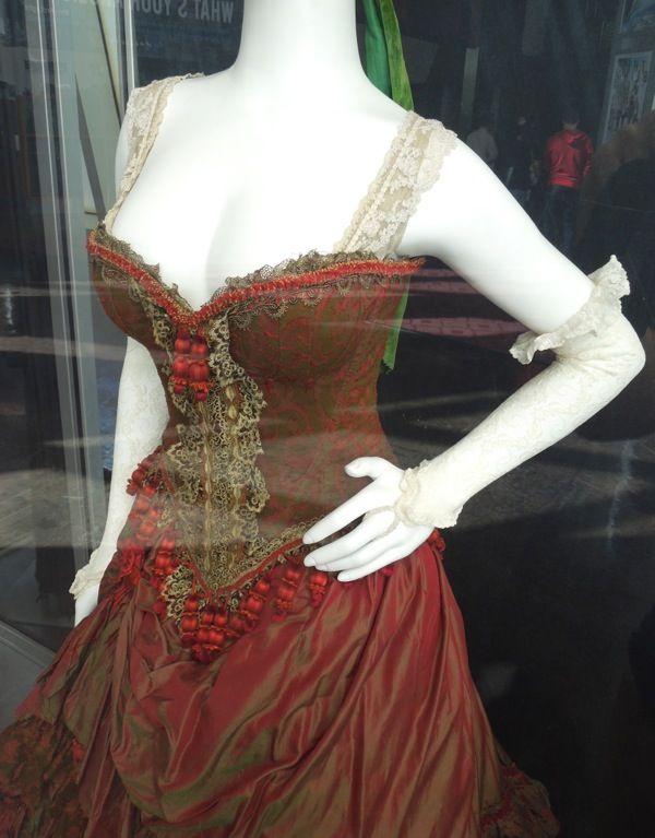 Red Harrington dress detail The Lone Ranger