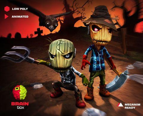 Scarecrow Pack https://www.assetstore.unity3d.com/en/#!/content/21810