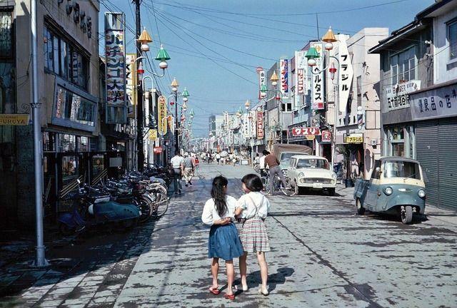 1960年代の千歳だって。同じ北海道とは思えない。いいなあ…。