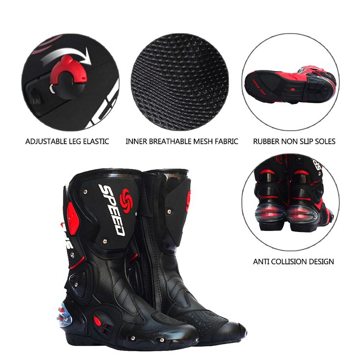 ==> [Free Shipping] Buy Best Motorcycle Boot Waterproof Pro-biker Shoes Speed Bikers Moto Rmotorcyle acing Motocross Leather Shoes Motocross Racing Boots Online with LOWEST Price | 32815571549
