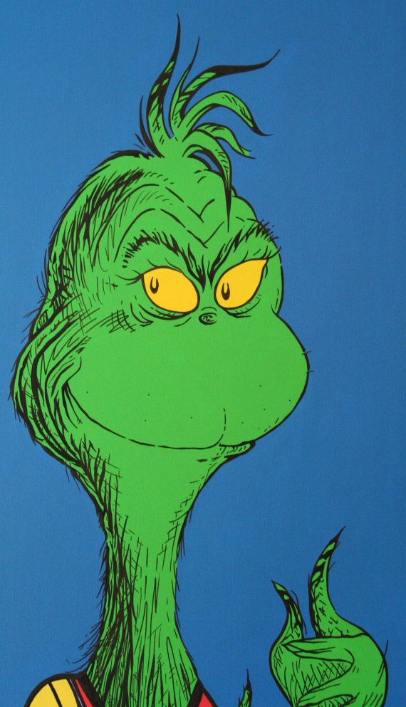 61 best Painting: The Grinch images on Pinterest | Merry ...