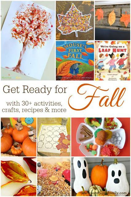 Get Ready For Fall With 30+ Activities, Crafts, Recipes U0026 More
