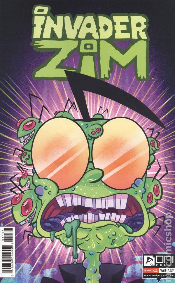 Invader Zim (2015 Oni Press) 11B