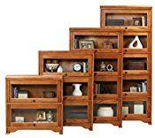 Eagle Oak Ridge 2 Door Lawyer Bookcase, 32″ Wide, Medium Oak Finish