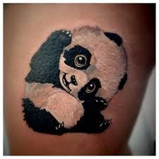 Image result for panda tattoo