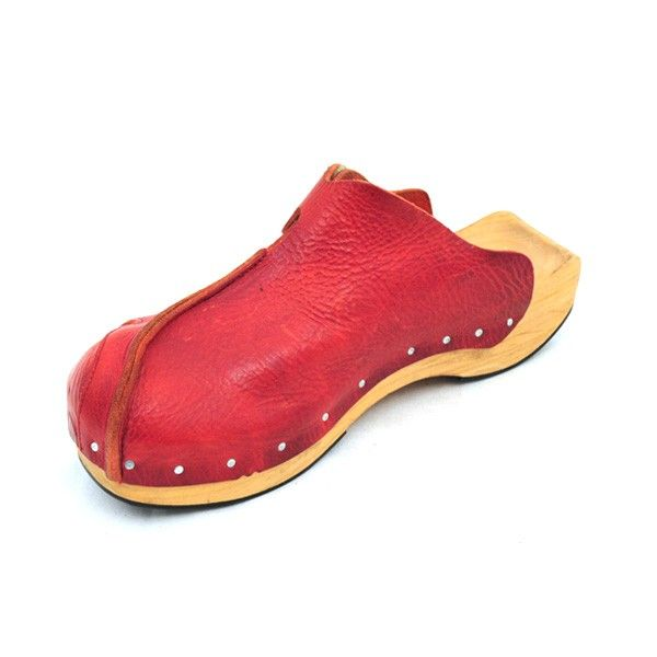 Cydwoq clogs.  They make fantastically unusual shoes but they are delicate and expensive.  Mine are all ebay acquisitions.