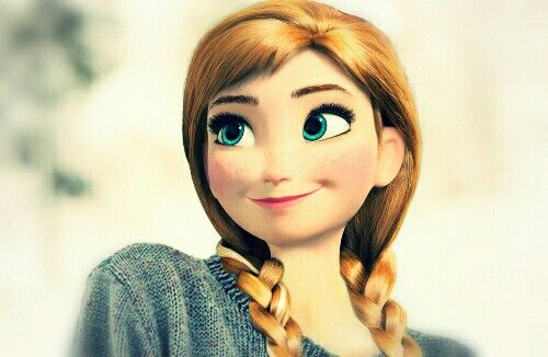 Anna , frozen, anna in real life?