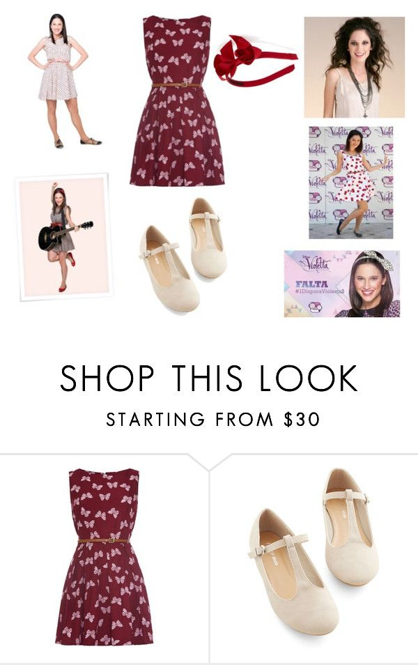 """""""Franchesca de Violetta"""" by michelle-osorio ❤ liked on Polyvore featuring Disney, women's clothing, women, female, woman, misses and juniors"""
