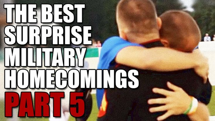 The Best Surprise Military Homecomings: PART 5  |  In honor of the upcoming Veterans Day, we put together the fifth installment of our Best Surprise Military Homecomings series! We hope you enjoy. Thanks to all past, present, and future veterans for their service to our country.