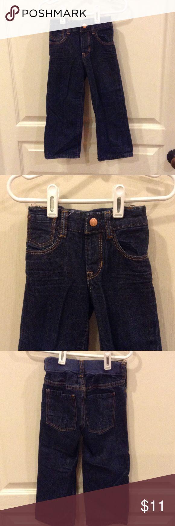 NWOT, GAP LIL LOOSE JEANS NWOT, GAP LIL LOOSE JEANS, dark wash, elastic in back of waist GAP Bottoms Jeans