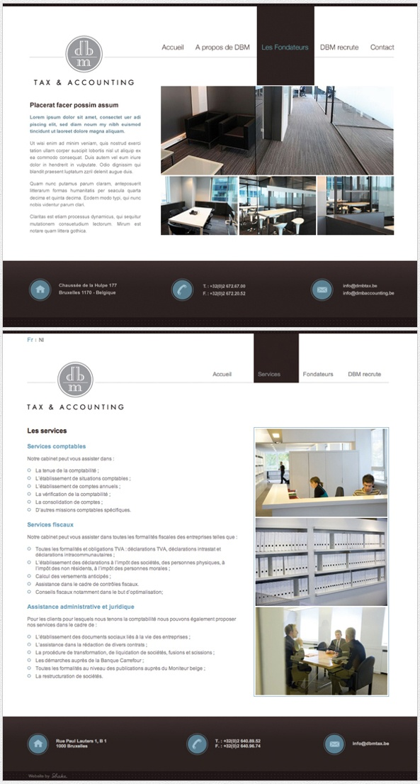 #graphicdesign #webdesign #design #website #layout DBM Tax & Accounting Website
