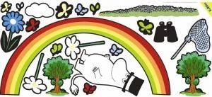 Moomin wall stickers