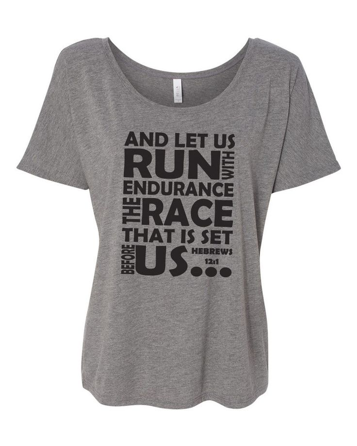 And let us RUN with endurance the RACE that is set before US. Hebrews – Pure Zen Activewear