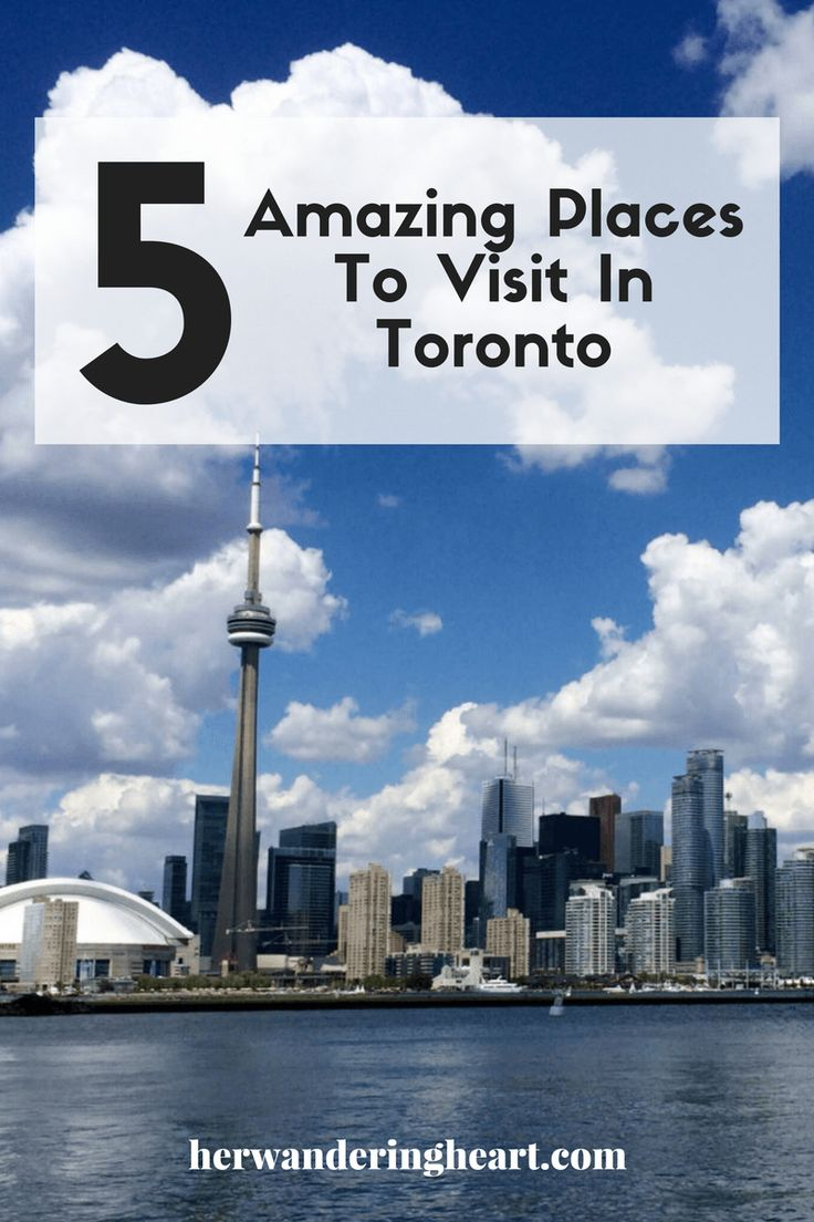 I love Toronto! I live about an hour away from the city and go visit as much as I can. It's such a busy city with so much to do. I've rounded up five of my favourite places to check out…