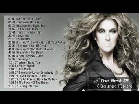 ▶ Best Songs Of Celine Dion || Celine Dion's Greatest Hits 2014 - YouTube 1:31:06