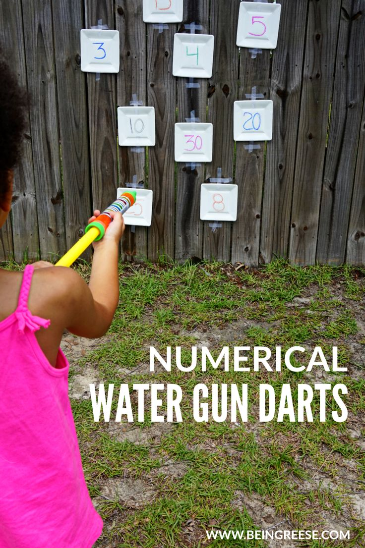Cool down this summer with this educational water gun game.