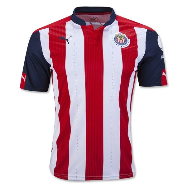 Chivas 2016/2017 Home Men Soccer Jersey Personalized Name and Number