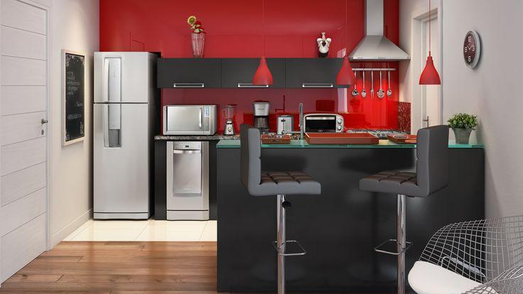 Cozinha Moderna 9m²