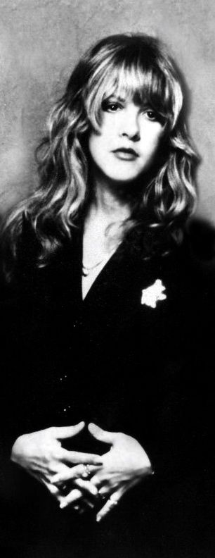 Stevie Nicks ~ I've always loved this photo of Stevie.  Classy & beautiful ~