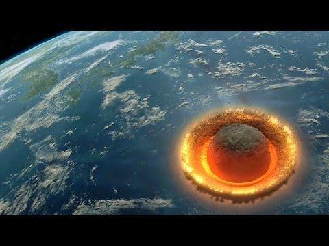 E se um asteróide de 500 quilómetros de diâmetro atingisse a Terra? (vídeo) | Blogue alien's & android's