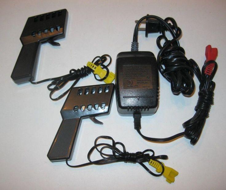 Mattel HO Slot Car Power Pack & 2 Hotwheels Controllers - Mixed Lot   #Mattel