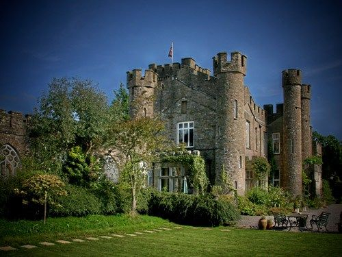 Augill Castle, Lake District  Grand with a capital G  With a right royal feast for 40 at the refectory tables and exclusive use of 14 bedrooms, you can host a weekend-house-party-style wedding here...