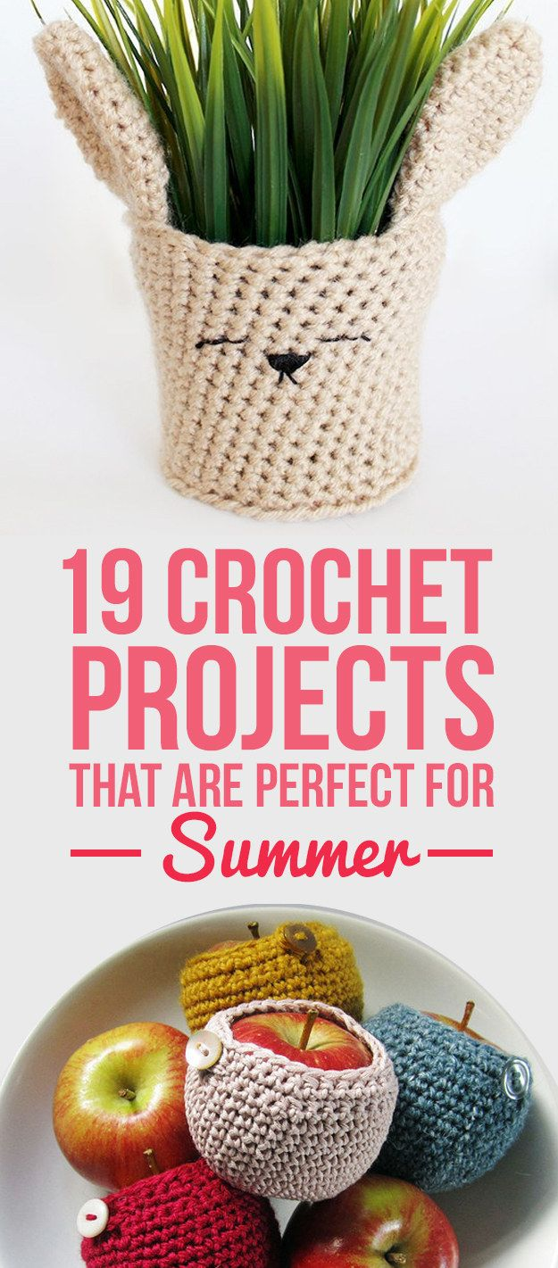 19 Crochet Projects That Are Perfect For Summer