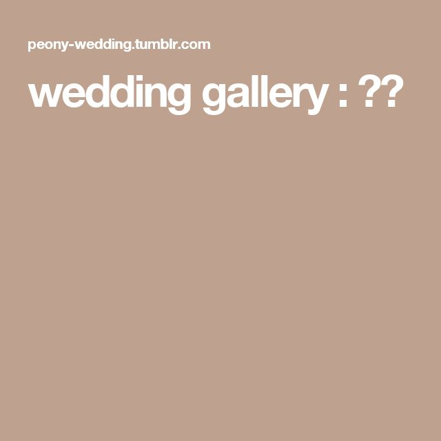 wedding gallery : 画像