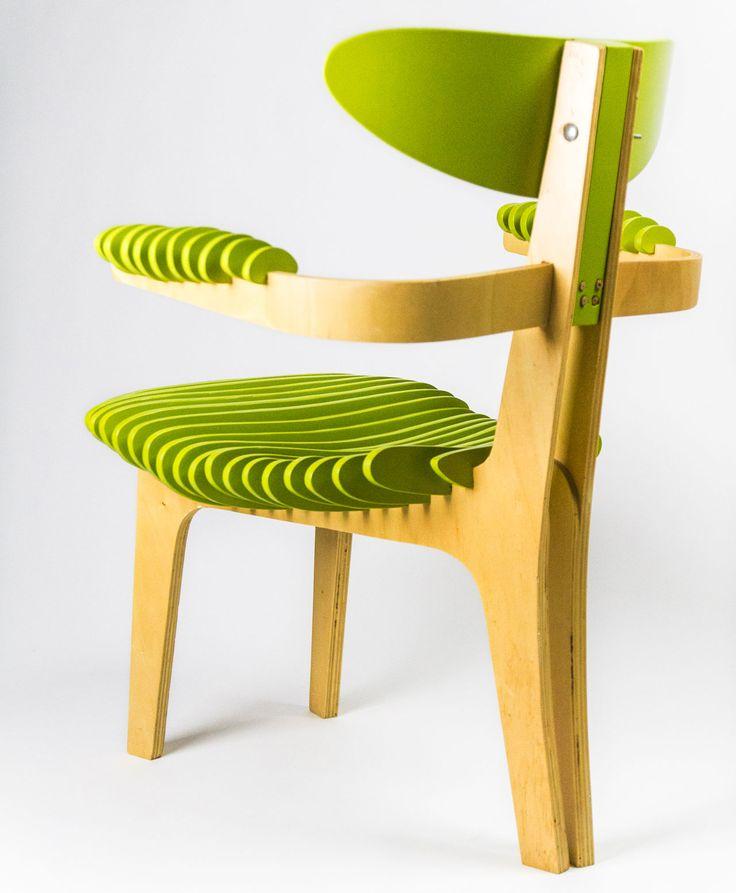 Manolo Bossi, prototipo della Jointed Chair