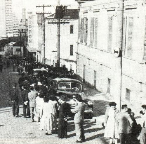Cine Nippon Inaugurado em 1959, na Rua Santa Luzia nº 80, na Liberdade.