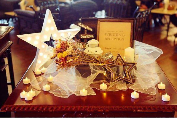 宝石みたいにキラキラ♡【スター】がテーマのウェディング☆*:.◦. | 結婚式準備はBLESS(ブレス)