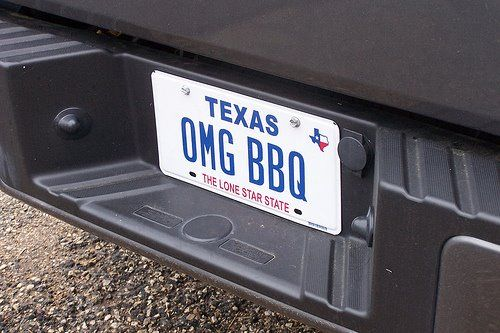 You'll only find this in Texas.  Texans love their BBQ.
