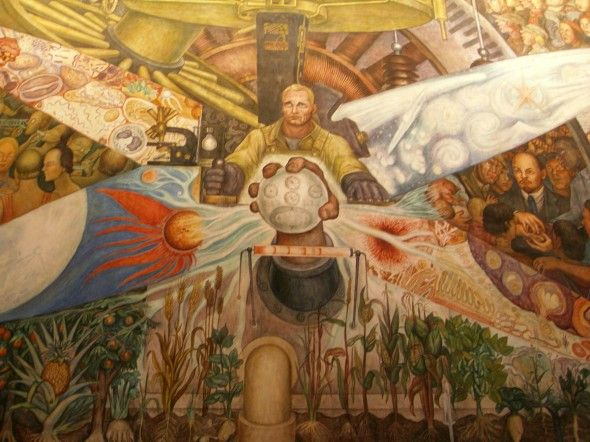 Pin by marsha 39 s dolce on imagination and inspiration for Diego rivera mural at rockefeller center