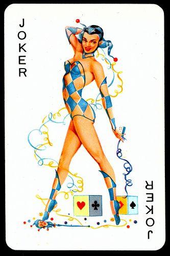 """Biba"" Playing Card - Joker"