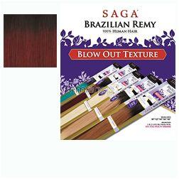 "Fri Jul 15, 2016 - #2: Saga Brazilian Remy Blow Out Straight 16"" - Color OT530 - Remi Weaving"