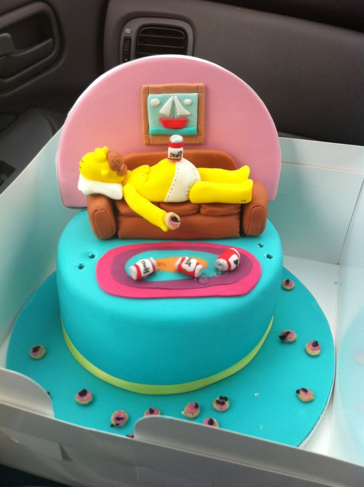 20 Best Images About Simpsons Cakes On Pinterest