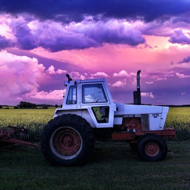User @regina.sk on Instagram swears this photo is not photoshopped! Just one example of Saskatchewan's magnificent prairie skies! #nofilter