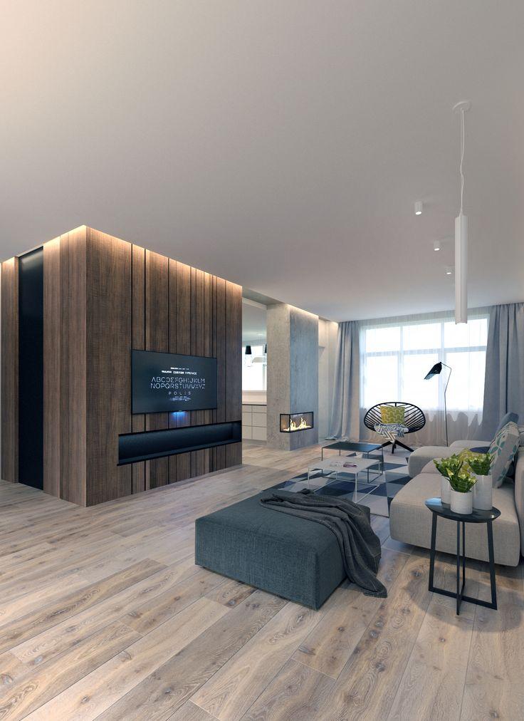 Дизайн интерьера квартиры #скандинавский #scandinavian #apartment #design #дизайн_квартиры #гостиная