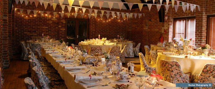 Haxby memorial hall wedding