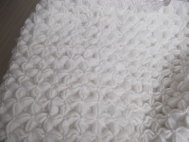 Ravelry: Puffed Star Baby Blanket pattern by Jessica Myers