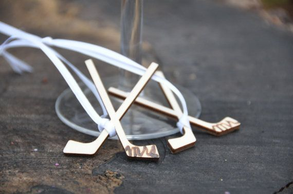 Hey, I found this really awesome Etsy listing at https://www.etsy.com/listing/214179113/wedding-favor-mr-and-mrs-ornament-hockey