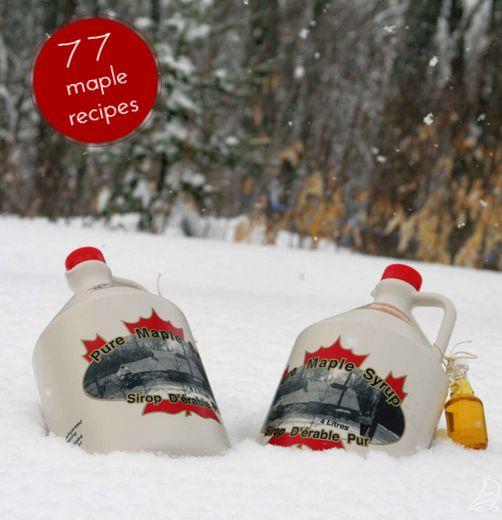 77 Maple Syrup Recipes | New Brunswick Maple Syrup Association #ExploreNB