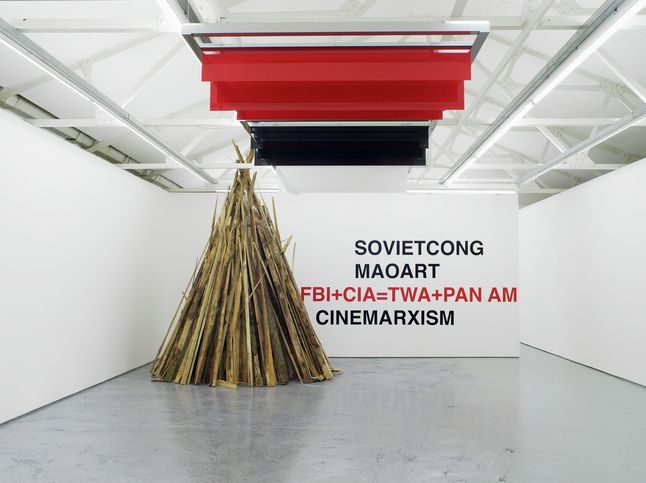 Liam Gillick @ Maureen Paley, London