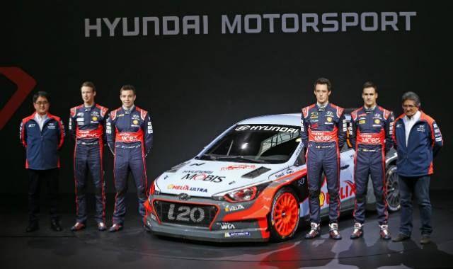 Nowy rajdowy model i20 ujrzał światło dzienne!  Kto z Was nie może się również doczekać startu WRC? Ręka w górę!