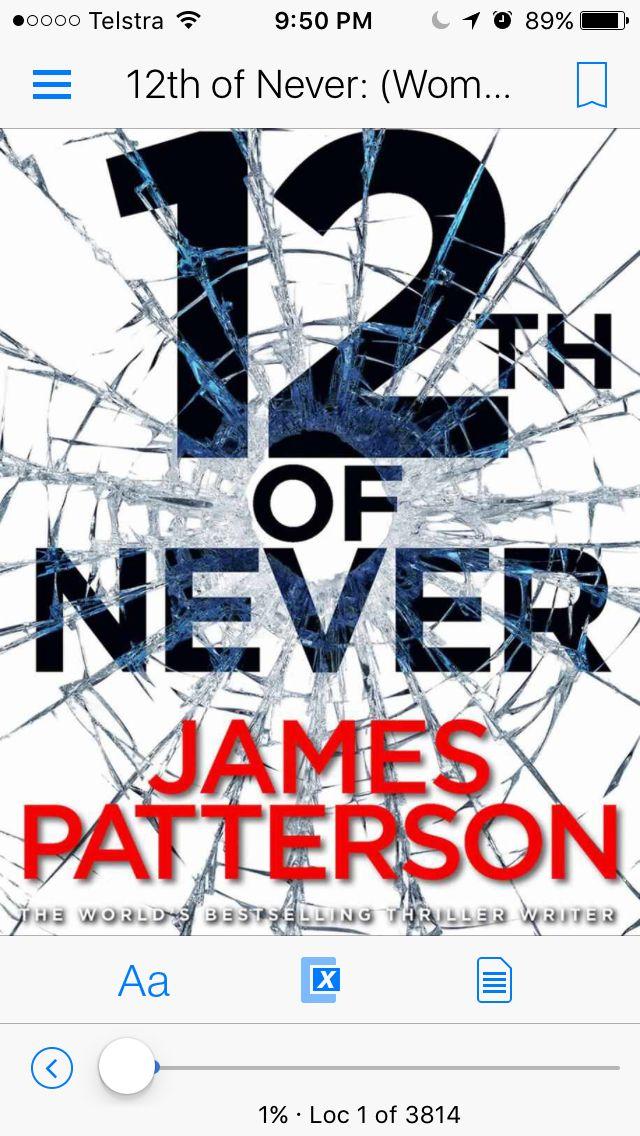 #jamespatterson Another book in the #womensmurderclub series