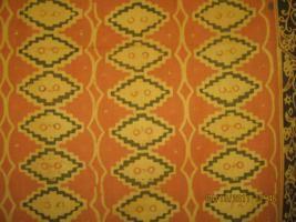 Batik Banten motif Surosowan adalah nama tempat/ruang menghadap raja/ Sultan Kesultanan Banten.