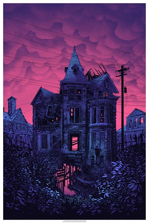 """""""…and sometimes you go to that place we do not know, and sometimes you come back, and sometimes you don't."""" Art Print by Daniel Danger  (Onsale Info)"""