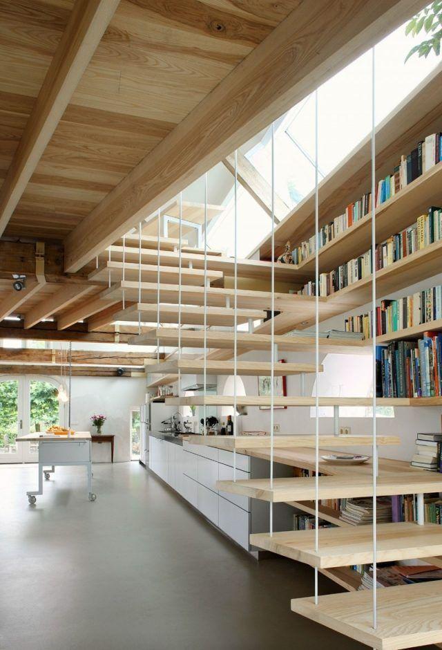 Die besten 25+ Holzstufen Ideen auf Pinterest | Stiegen ...