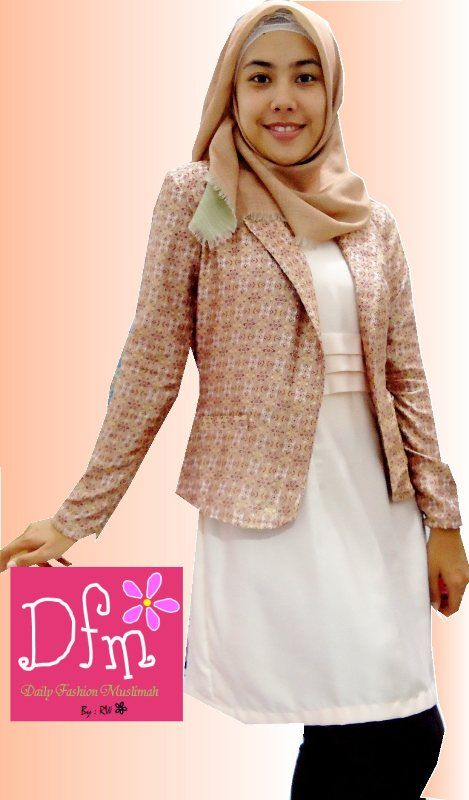 #hijabcasual #blazer