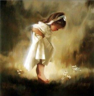 .: Angel, Donald O'Connor, Girl, Donald Bottom, Art, Children, Donaldzolan, Paintings, Oil Painting